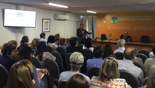 imagen de Representantes de la Agencia Internacional de Investigación en Cáncer visitaron Uruguay