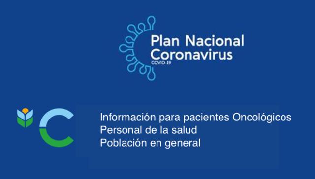 imagen de Información para pacientes Oncológicos, Personal de la Salud y Población en general