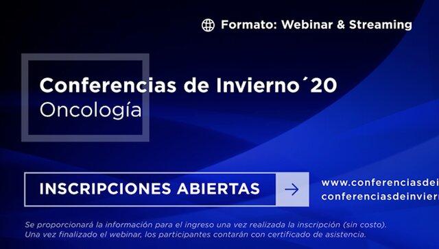 imagen de CONFERENCIAS DE INVIERNO - ONCOLOGÍA 2020